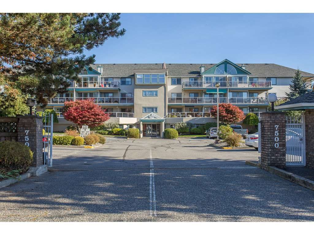 """Main Photo: 106 7500 COLUMBIA Street in Mission: Mission BC Condo for sale in """"Edwards Estates"""" : MLS®# R2216237"""