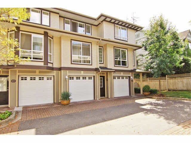 "Main Photo: 20 8778 159 Street in Surrey: Fleetwood Tynehead Townhouse for sale in ""Amberstone"" : MLS®# R2262647"