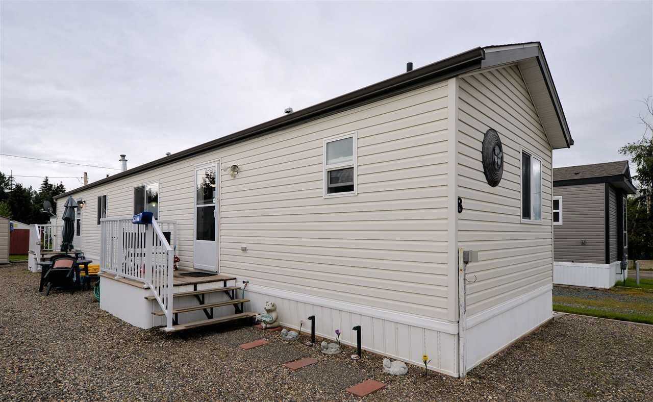 "Main Photo: 8 7817 S 97 Highway in Prince George: Sintich Manufactured Home for sale in ""SINTICH MOBILE HOME PARK"" (PG City South East (Zone 75))  : MLS®# R2291342"