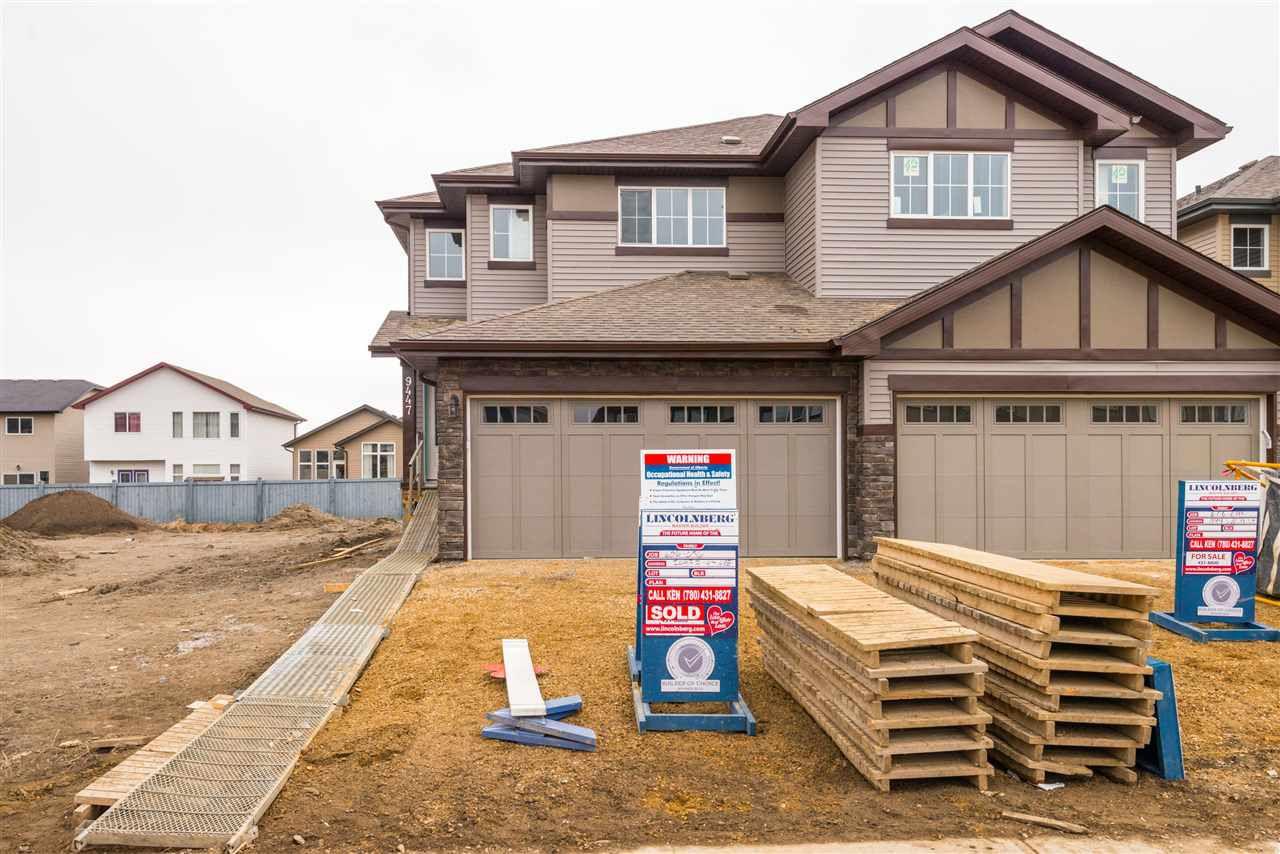 Main Photo: 9447 209 Street in Edmonton: Zone 58 House Half Duplex for sale : MLS®# E4147671