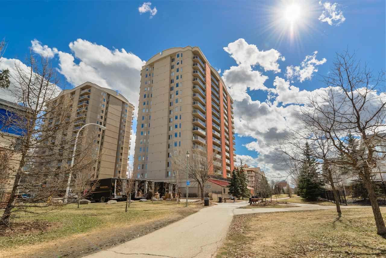 Main Photo: 804 10909 103 Avenue in Edmonton: Zone 12 Condo for sale : MLS®# E4152491