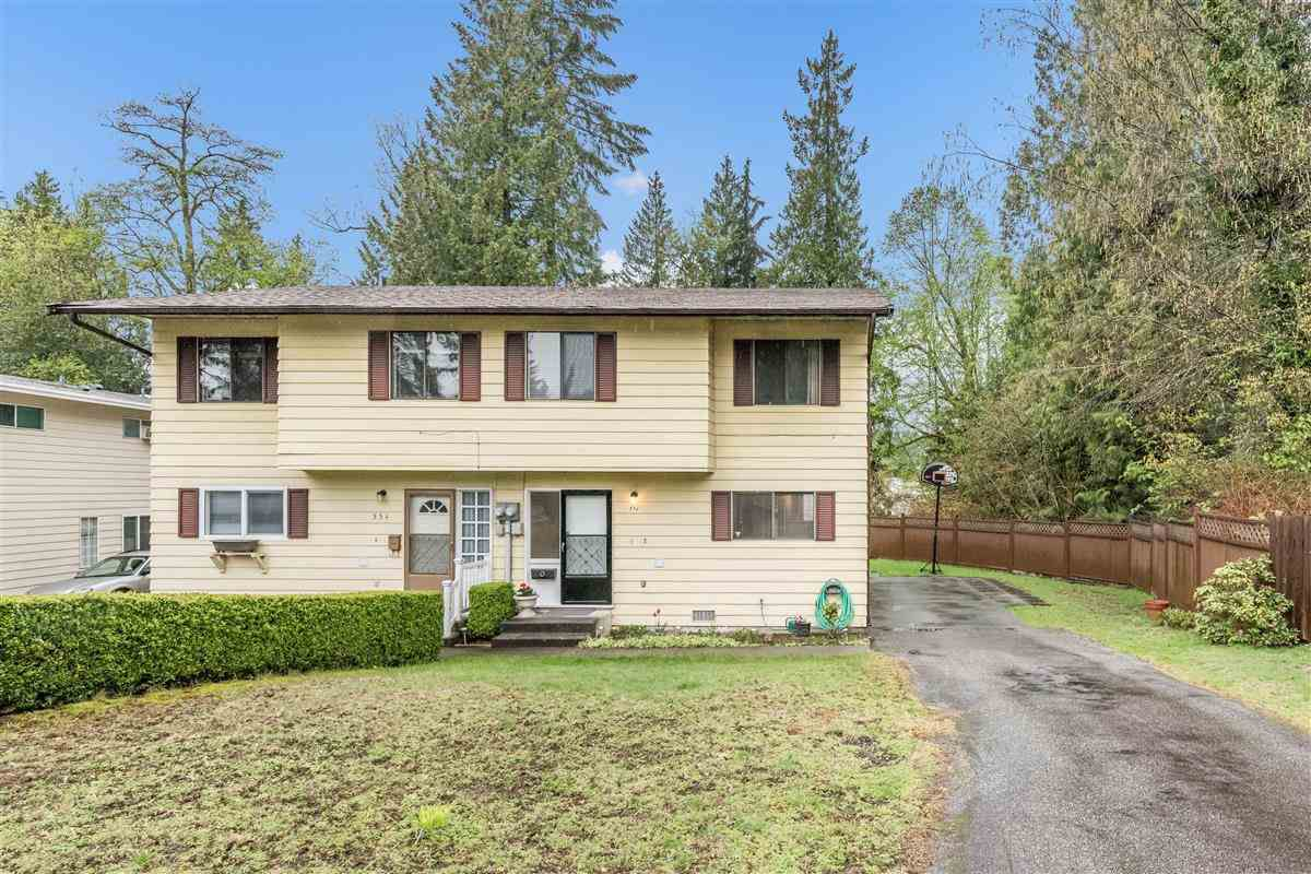 Main Photo: 556 TIPTON Street in Coquitlam: Central Coquitlam House 1/2 Duplex for sale : MLS®# R2361104