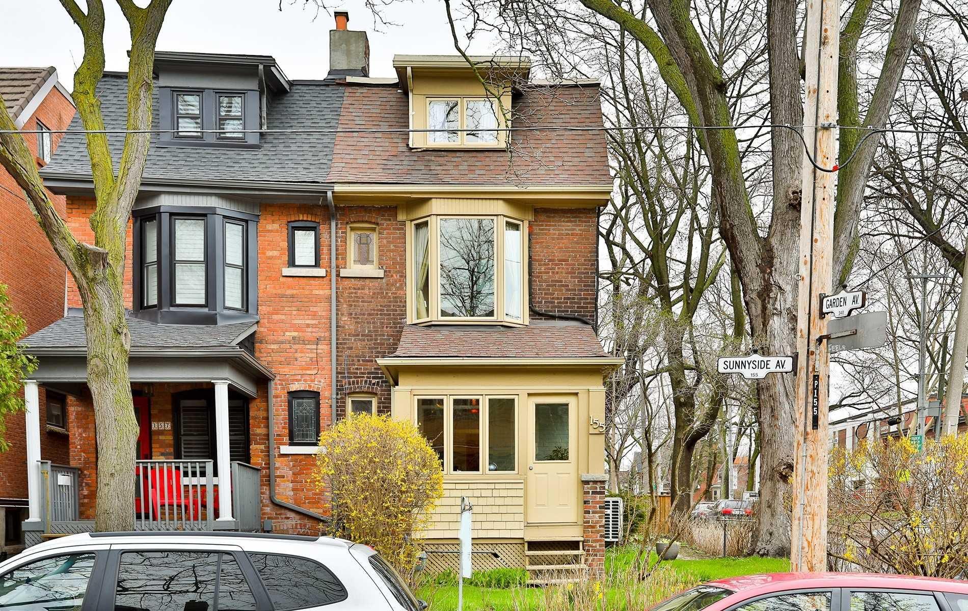 Main Photo: 155 Sunnyside Avenue in Toronto: High Park-Swansea House (2 1/2 Storey) for sale (Toronto W01)  : MLS®# W4440904