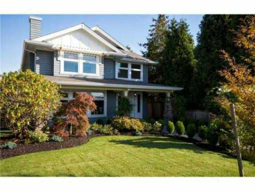 "Main Photo: 1418 GRAND BV in North Vancouver: Boulevard House for sale in ""BOULEVARD"" : MLS®# V1039148"