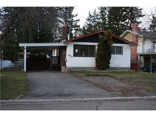 Main Photo: 2374 OLDS Street in Prince George: Pinewood House for sale (PG City West (Zone 71))  : MLS®# N235345