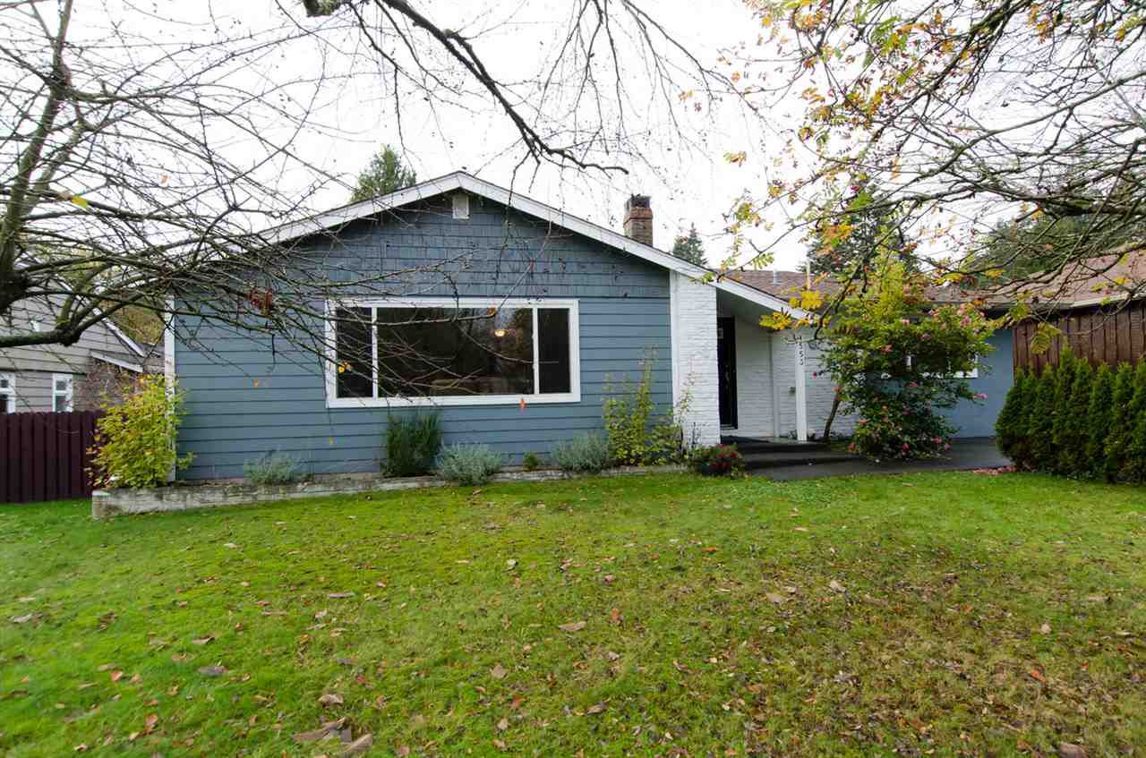 Main Photo: 1553 CORY Road: White Rock House for sale (South Surrey White Rock)  : MLS®# R2124394