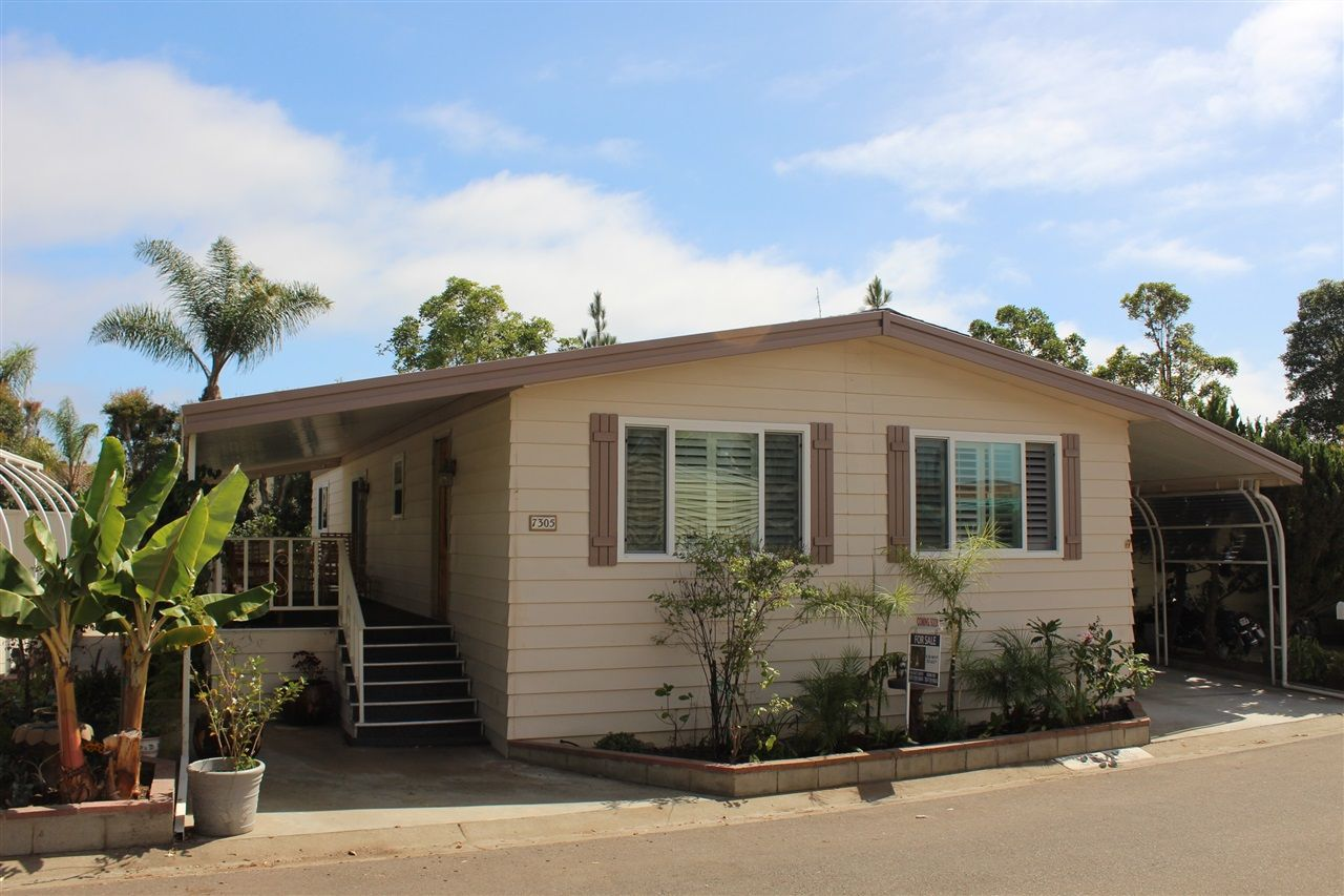 Main Photo: CARLSBAD WEST Manufactured Home for sale : 2 bedrooms : 7305 San Luis #240 in Carlsbad
