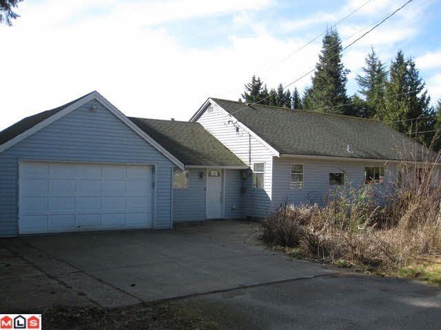Main Photo: 23912 48TH AVENUE in : Salmon River House for sale (Langley)  : MLS®# F1207535