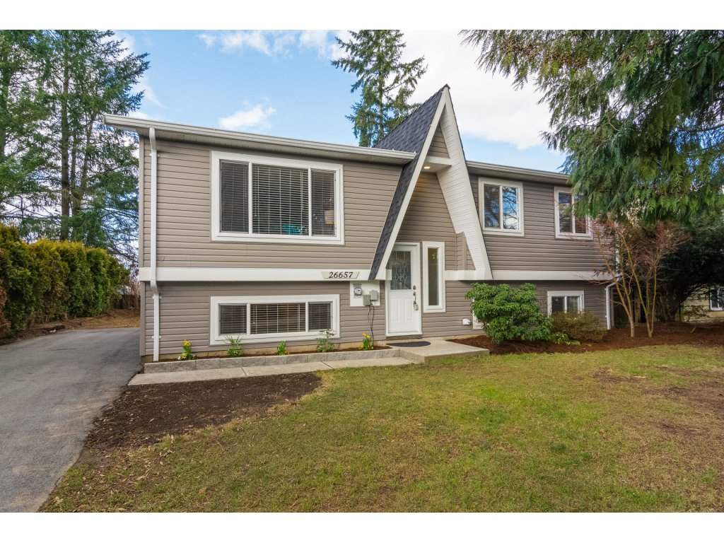 Main Photo: 26657 32A AVENUE in Langley: Aldergrove Langley House for sale : MLS®# R2242997
