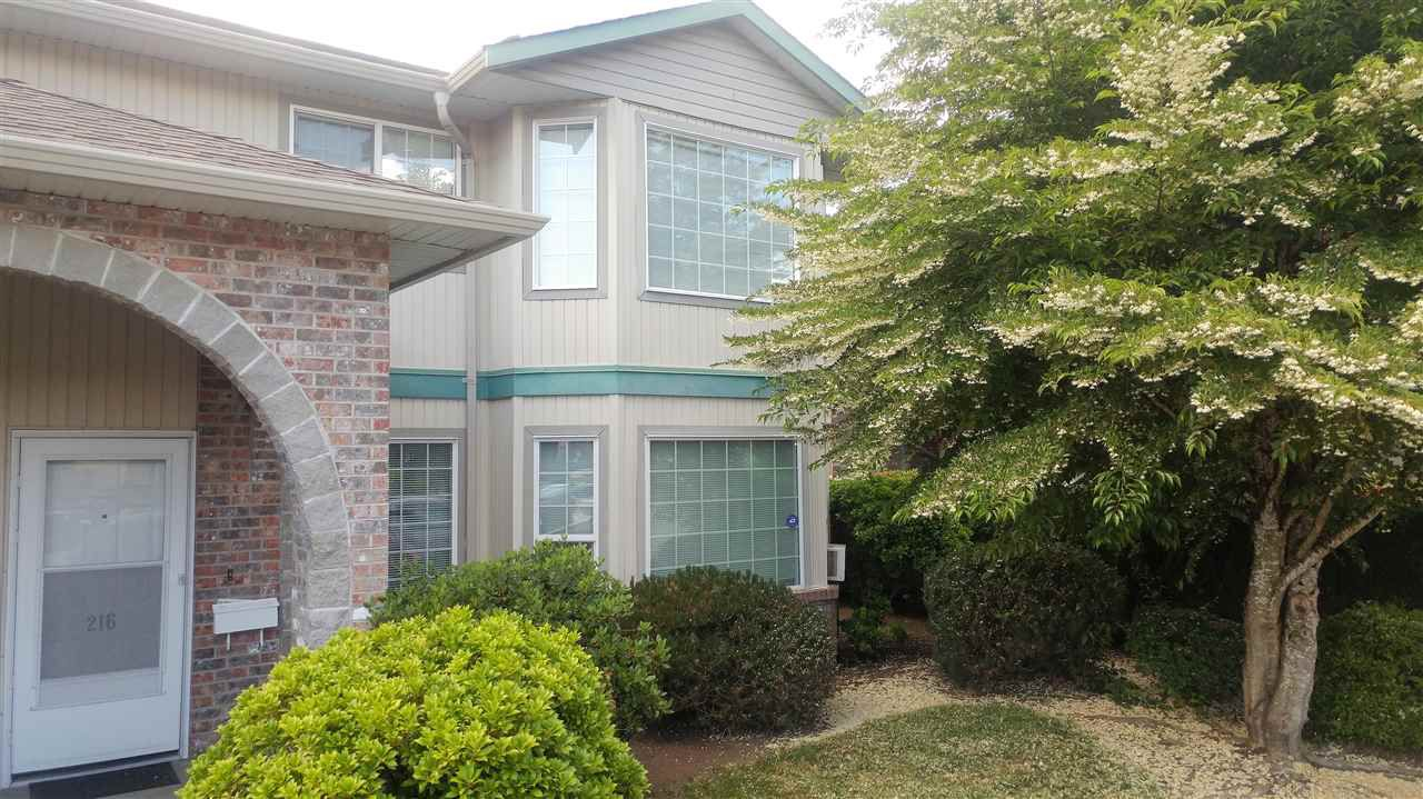 """Main Photo: 216 9855 QUARRY Road in Chilliwack: Chilliwack N Yale-Well Townhouse for sale in """"LITTLE MOUNTAIN MEADOWS"""" : MLS®# R2273356"""