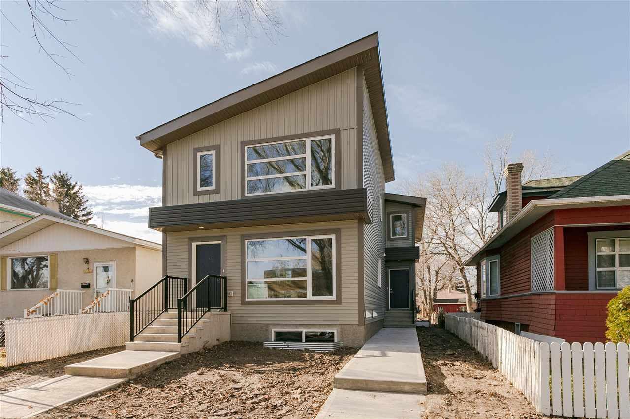 Main Photo: 12034 93 Street NW in Edmonton: Zone 05 House Half Duplex for sale : MLS®# E4127299