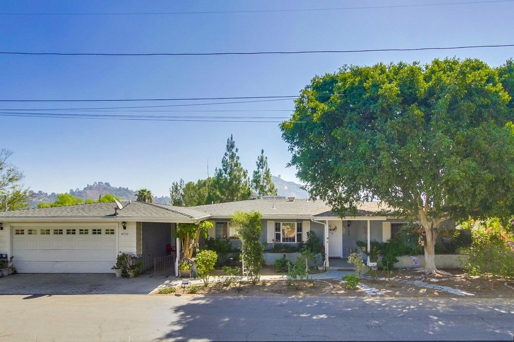 Main Photo: LA MESA House for sale : 4 bedrooms : 4770 Mission Bell Ln