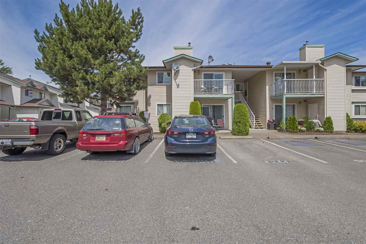 """Main Photo: 17 45640 STOREY Avenue in Sardis: Sardis West Vedder Rd Townhouse for sale in """"Whispering Pines"""" : MLS®# R2353879"""