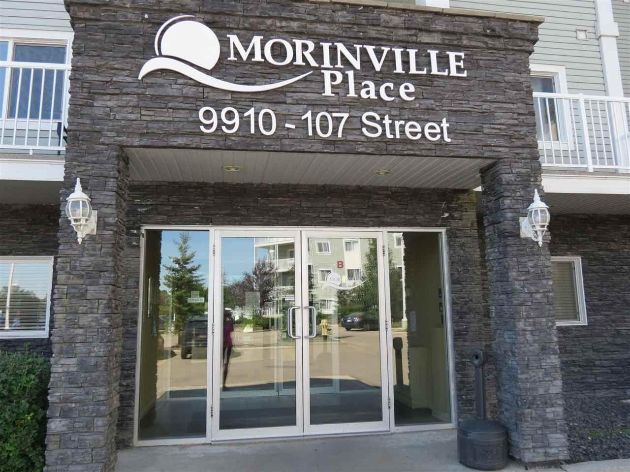 Main Photo: 106 9910 107 Street: Morinville Condo for sale : MLS®# E4150227