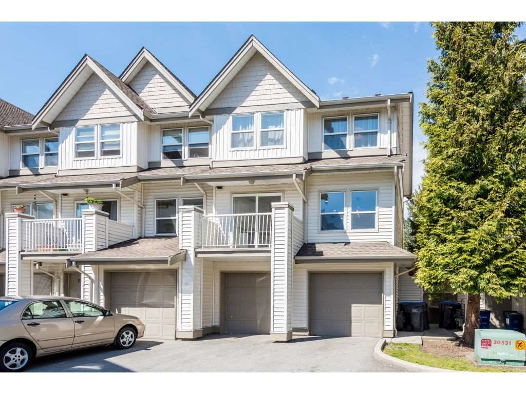 "Main Photo: 4 1260 RIVERSIDE Drive in Port Coquitlam: Riverwood Townhouse for sale in ""NORTHVIEW PLACE"" : MLS®# R2367888"
