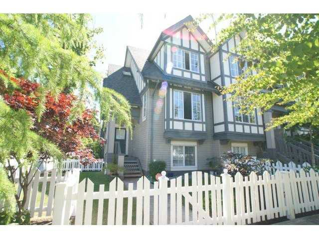 "Main Photo: 35 7331 HEATHER Street in Richmond: McLennan North Townhouse for sale in ""BAYBERRY PARK"" : MLS®# V898766"