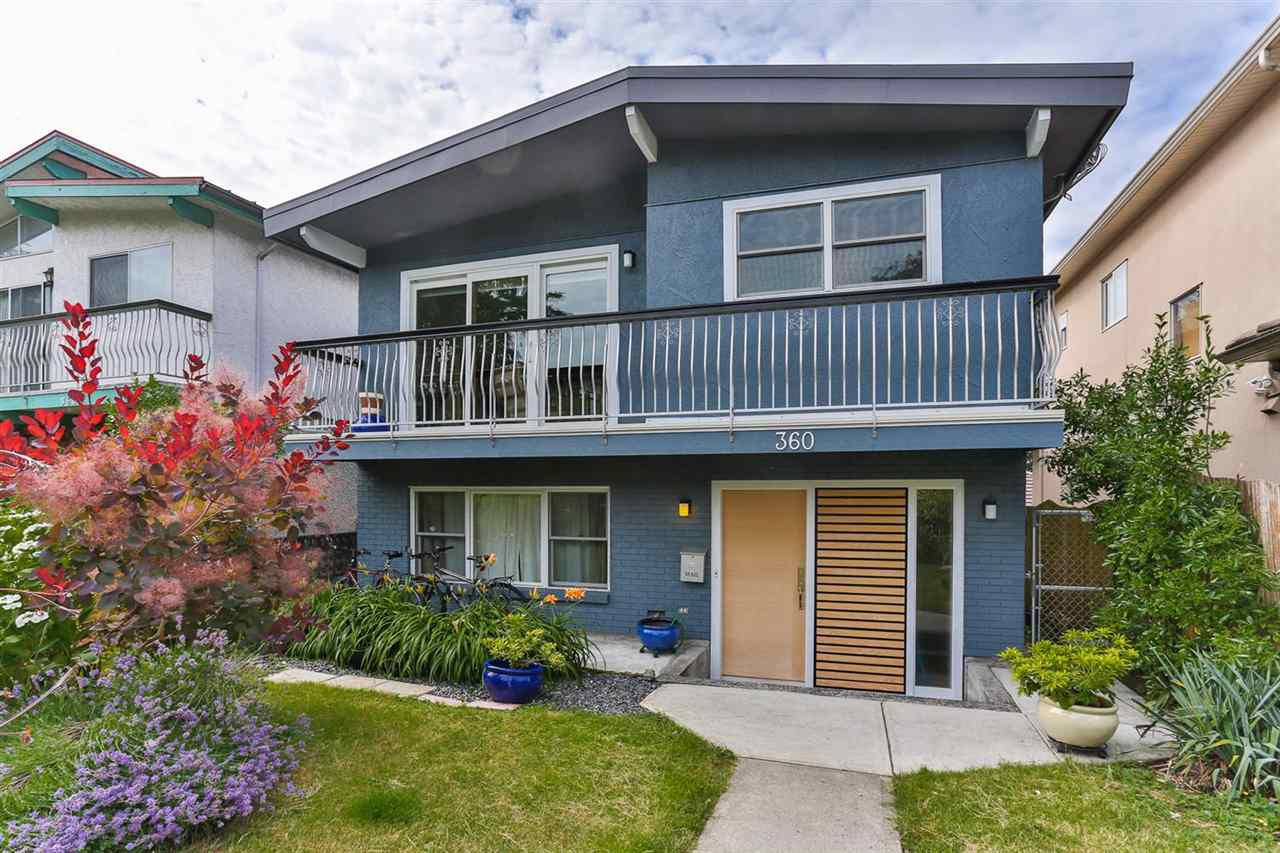 Main Photo: 360 E 46TH Avenue in Vancouver: Main House for sale (Vancouver East)  : MLS®# R2085164