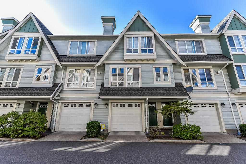 "Main Photo: 3 16388 85 Avenue in Surrey: Fleetwood Tynehead Townhouse for sale in ""Camelot"" : MLS®# R2205719"