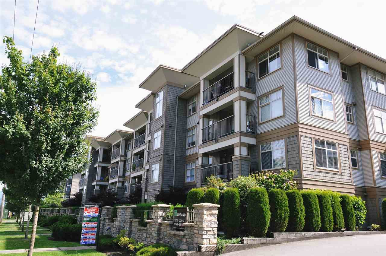 "Main Photo: 108 12248 224TH Street in Maple Ridge: East Central Condo for sale in ""URBANO"" : MLS®# R2210363"