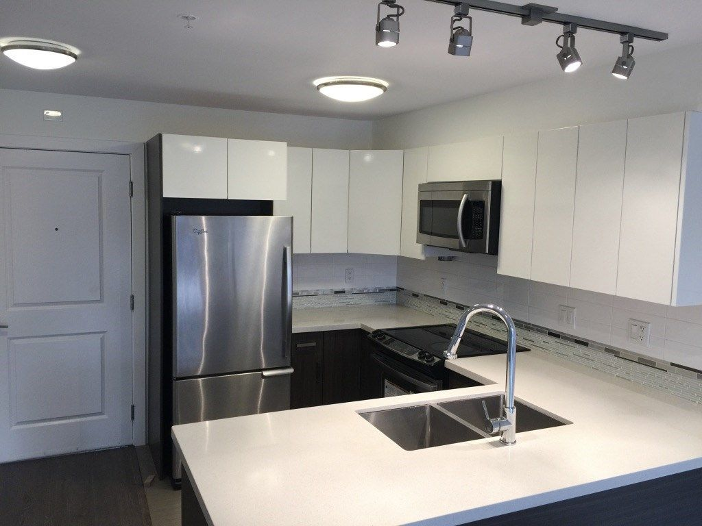 """Main Photo: 206 2408 E BROADWAY in Vancouver: Renfrew VE Condo for sale in """"BROADWAY CROSSING"""" (Vancouver East)  : MLS®# R2234098"""