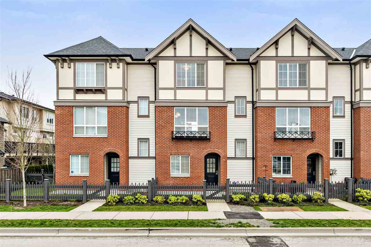 "Main Photo: 78 7848 209 Street in Langley: Willoughby Heights Townhouse for sale in ""MASON & GREEN"" : MLS®# R2239163"