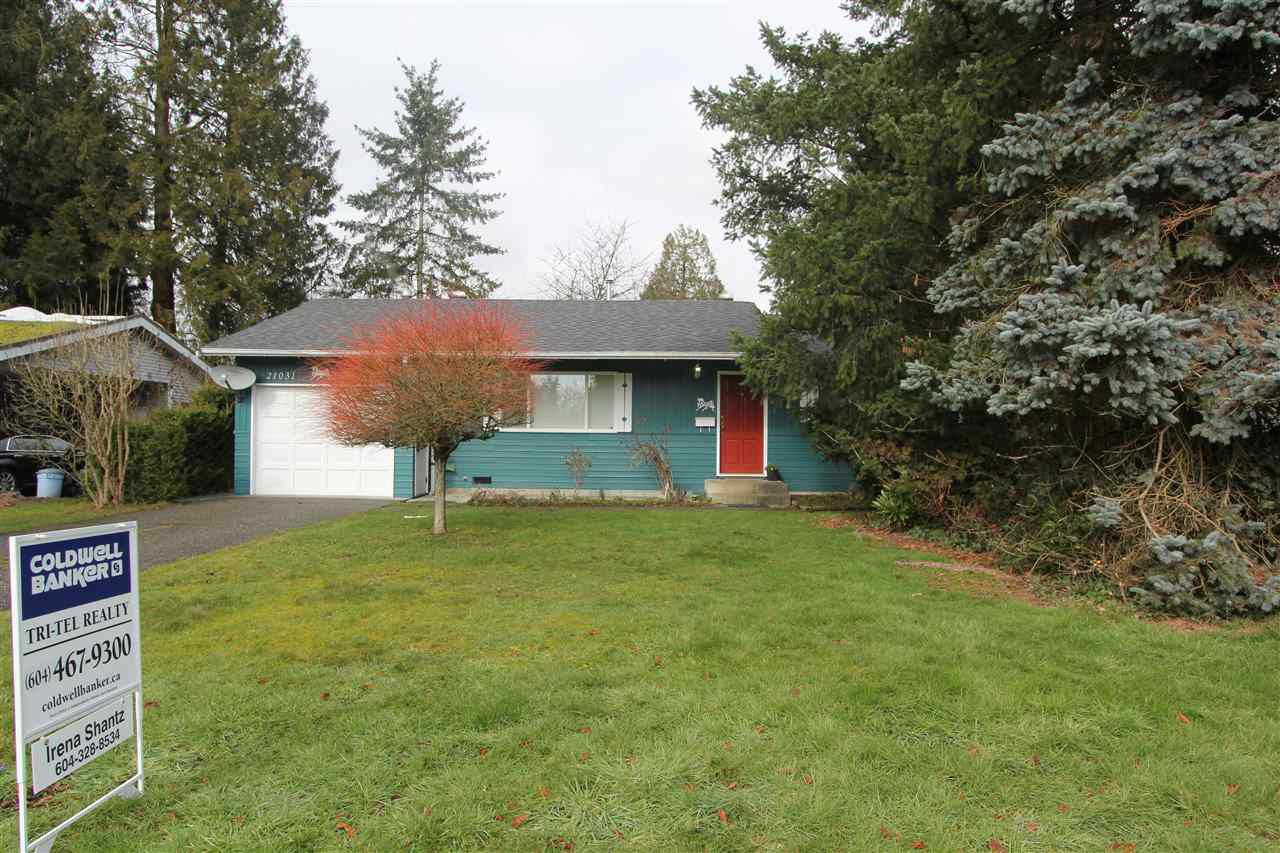Main Photo: 21031 STONEHOUSE Avenue in Maple Ridge: Northwest Maple Ridge House for sale : MLS®# R2244839