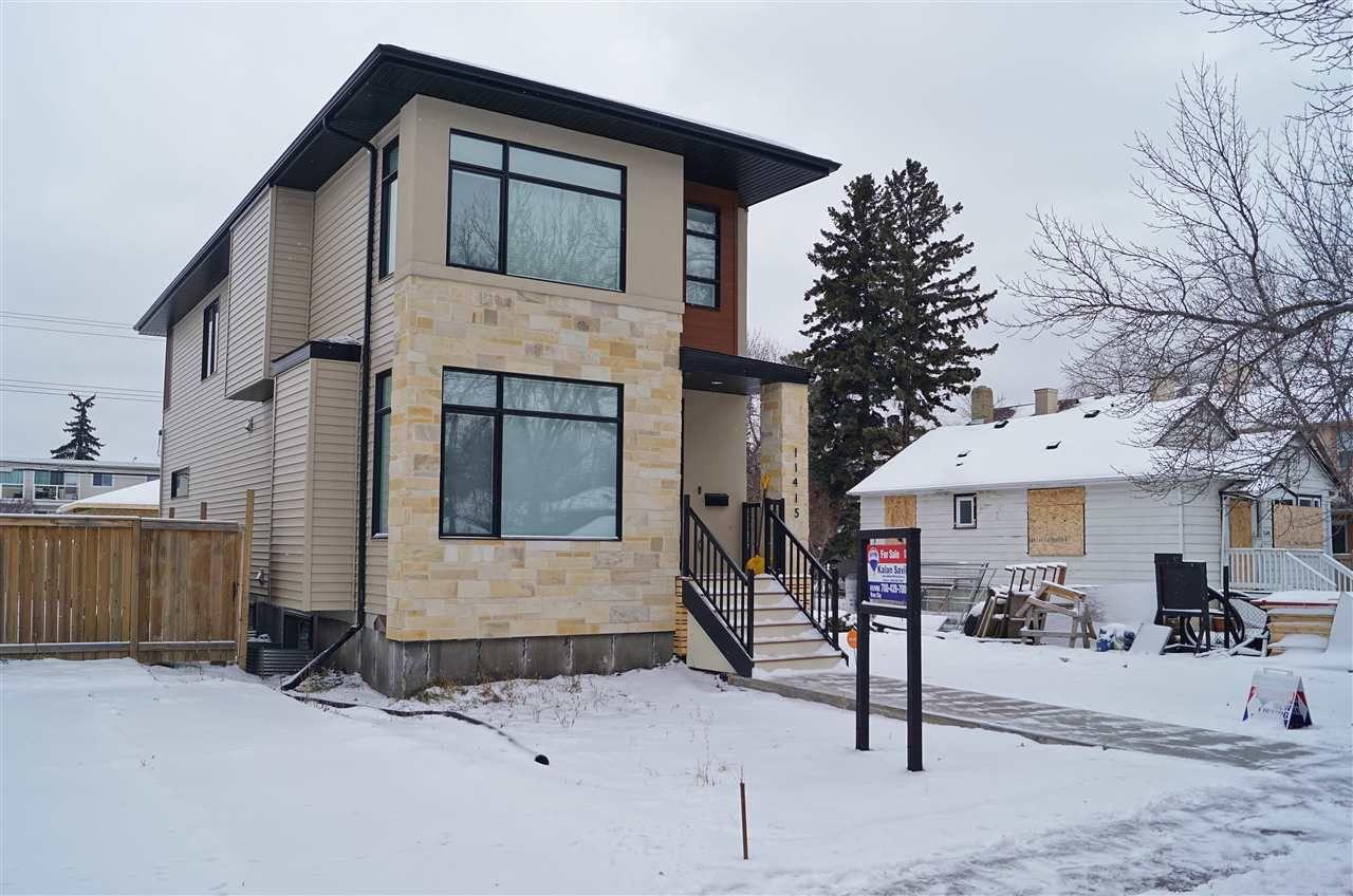 1) 11415 125 Street- Beautiful Infill Home