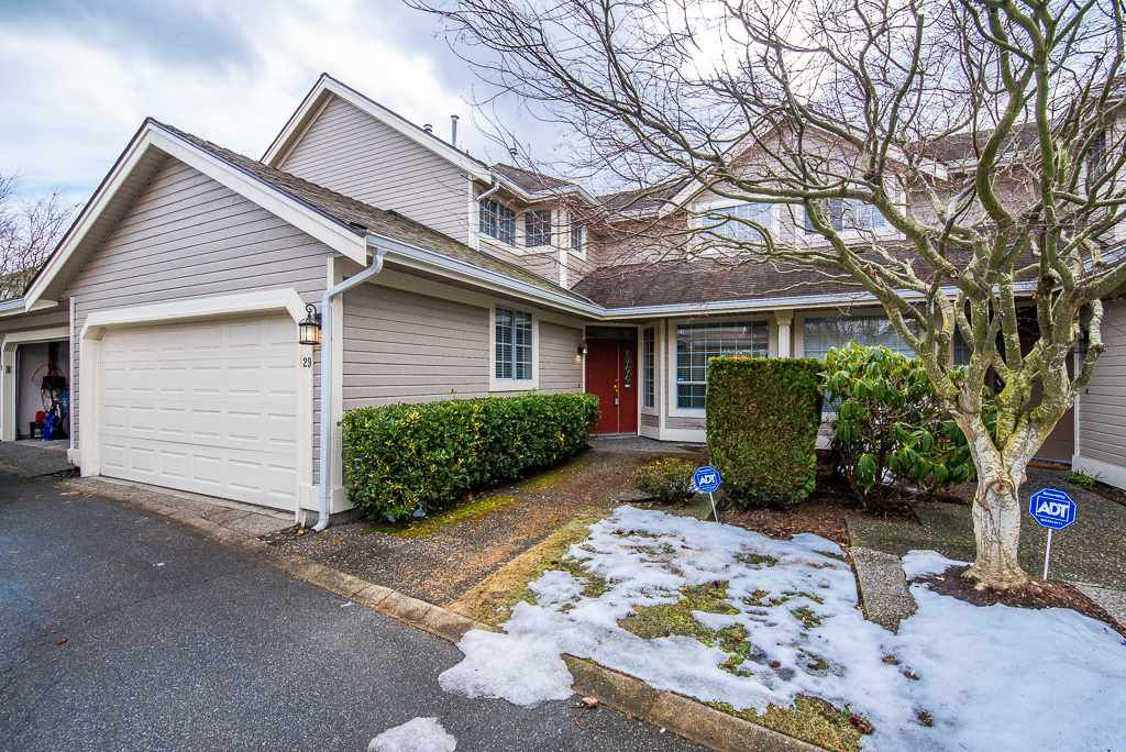 "Main Photo: 29 6380 121 Street in Surrey: Panorama Ridge Townhouse for sale in ""Forest Ridge"" : MLS®# R2342943"