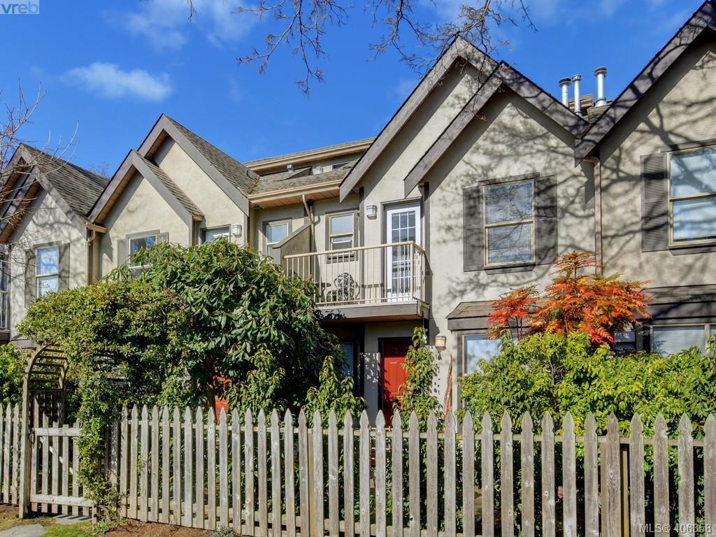 Main Photo: 8 1010 Pembroke Street in VICTORIA: Vi Central Park Townhouse for sale (Victoria)  : MLS®# 406358