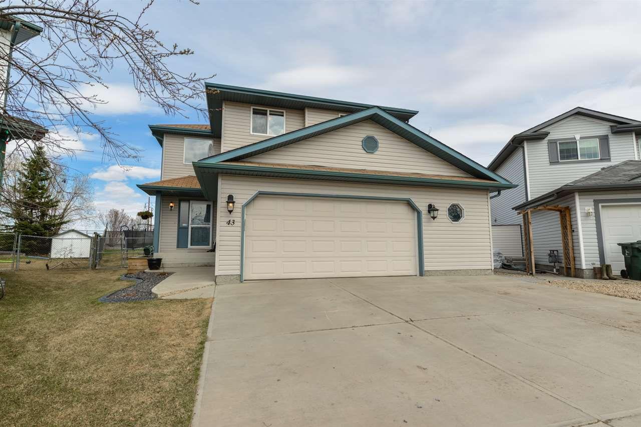 Main Photo: 43 Ironwood Fairway Close: Stony Plain House for sale : MLS®# E4146792