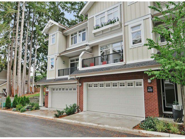 """Main Photo: 40 2925 KING GEORGE Boulevard in Surrey: King George Corridor Townhouse for sale in """"Keystone"""" (South Surrey White Rock)  : MLS®# F1322454"""