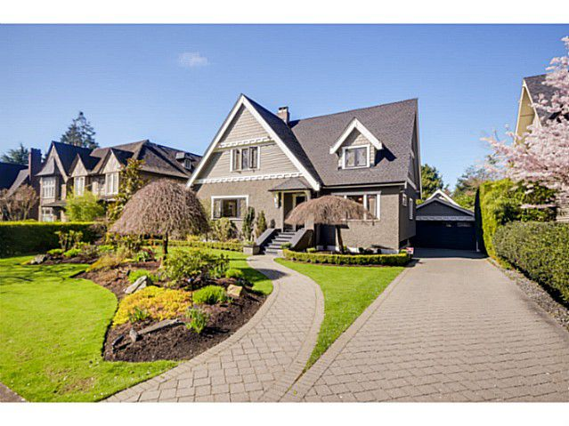 """Main Photo: 6387 CHURCHILL Street in Vancouver: South Granville House for sale in """"SOUTH GRANVILLE"""" (Vancouver West)  : MLS®# V1057411"""
