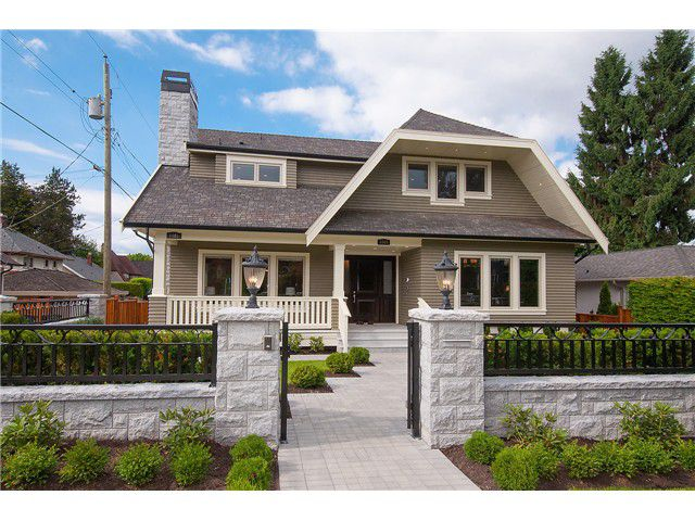 Main Photo: 1069 W 32ND Avenue in Vancouver: Shaughnessy House for sale (Vancouver West)  : MLS®# V1069776