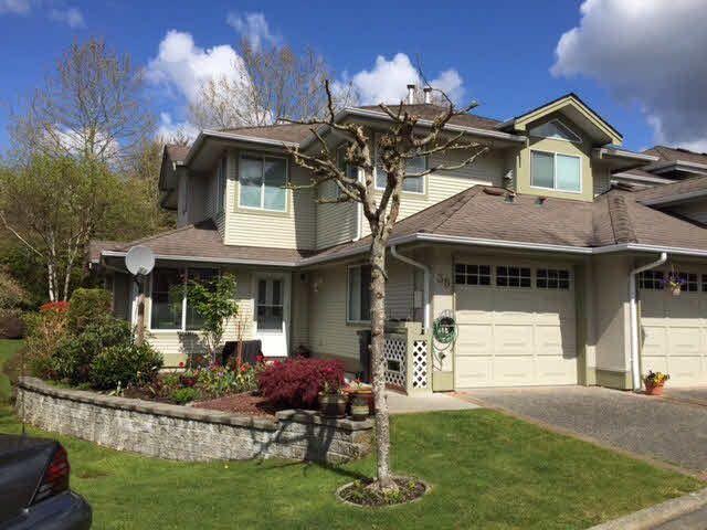 "Main Photo: 38 22740 116TH Avenue in Maple Ridge: East Central Townhouse for sale in ""FRASER GLEN"" : MLS®# V1116401"