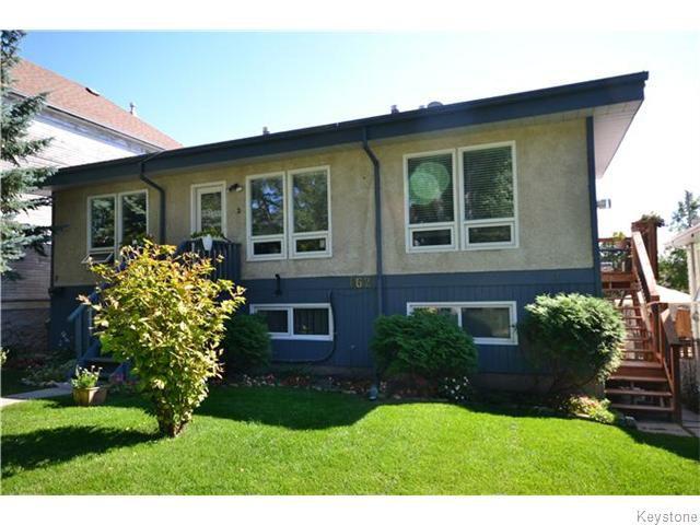 Main Photo: 162 Kitson Street in Winnipeg: St Boniface Condominium for sale (South East Winnipeg)  : MLS®# 1604546