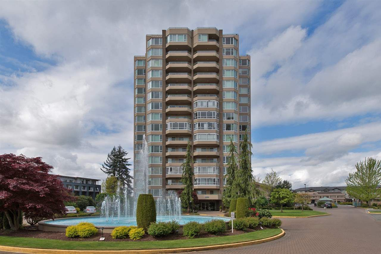 "Main Photo: 706 3150 GLADWIN Road in Abbotsford: Central Abbotsford Condo for sale in ""Regency Park Towers"" : MLS®# R2116354"