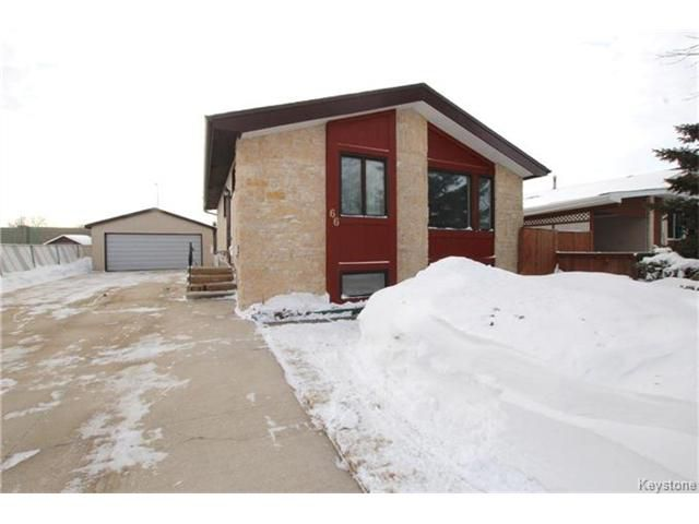 Main Photo: 66 Forest Cove Drive in Winnipeg: Inkster Gardens Residential for sale (4L)  : MLS®# 1701020