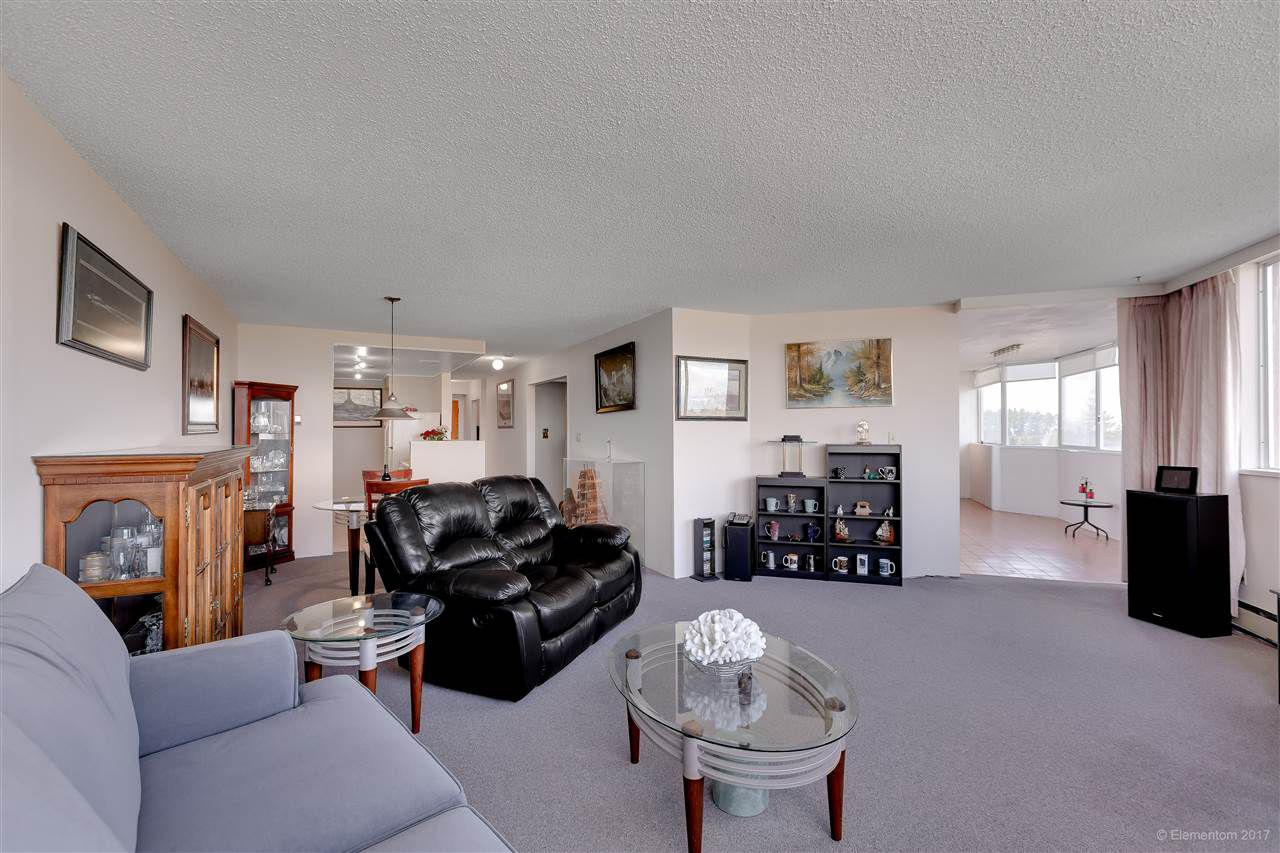 "Main Photo: 906 11881 88 Avenue in Delta: Annieville Condo for sale in ""Kennedy Heights Tower"" (N. Delta)  : MLS®# R2247506"