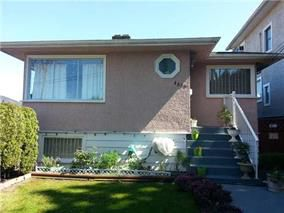 Main Photo: 3584 Gladstone Street in Vancouver: Grandview VE House for sale (Vancouver East)  : MLS®# V1118388