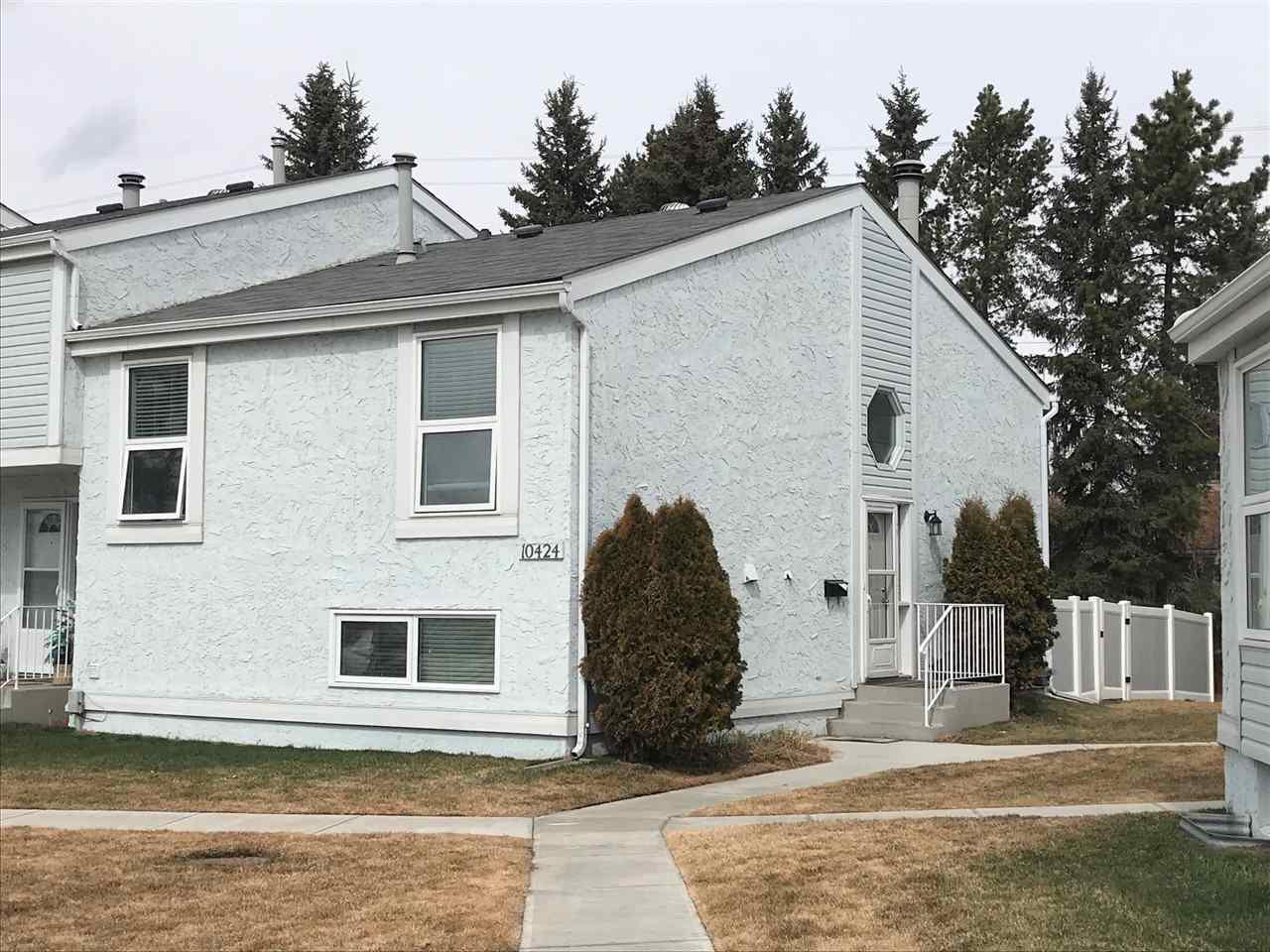 Main Photo: 10424 28A Avenue in Edmonton: Zone 16 Townhouse for sale : MLS®# E4152233