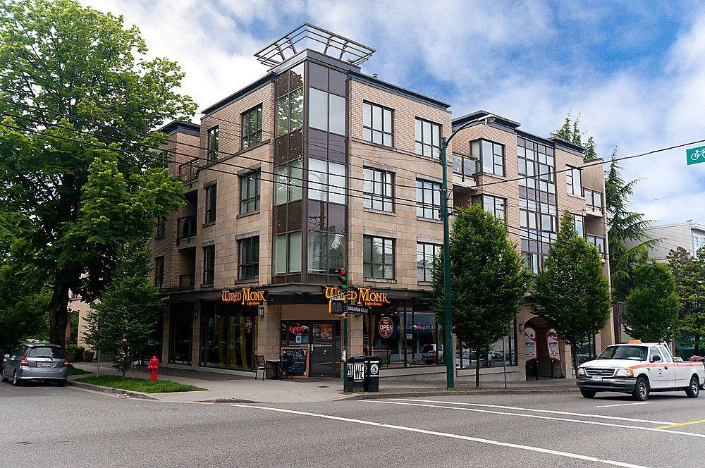 """Main Photo: 301 2015 TRAFALGAR Street in Vancouver: Kitsilano Condo for sale in """"TRAFALGAR SQUARE"""" (Vancouver West)  : MLS®# V909258"""