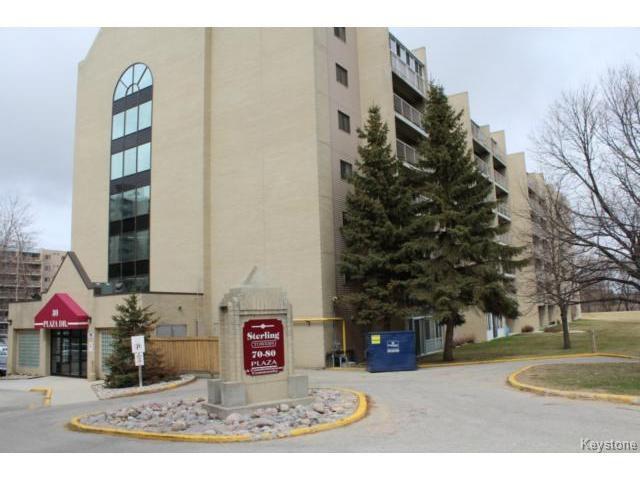 Main Photo: 80 Plaza Drive in WINNIPEG: Fort Garry / Whyte Ridge / St Norbert Condominium for sale (South Winnipeg)  : MLS®# 1409175
