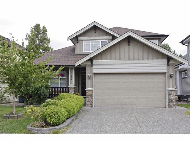"""Main Photo: 20193 74TH Avenue in Langley: Willoughby Heights House for sale in """"JERICHO RIDGE"""" : MLS®# F1423124"""