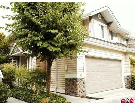 """Main Photo: 6950 120TH Street in Surrey: West Newton Townhouse for sale in """"COUGAR CR."""" : MLS®# F2619531"""