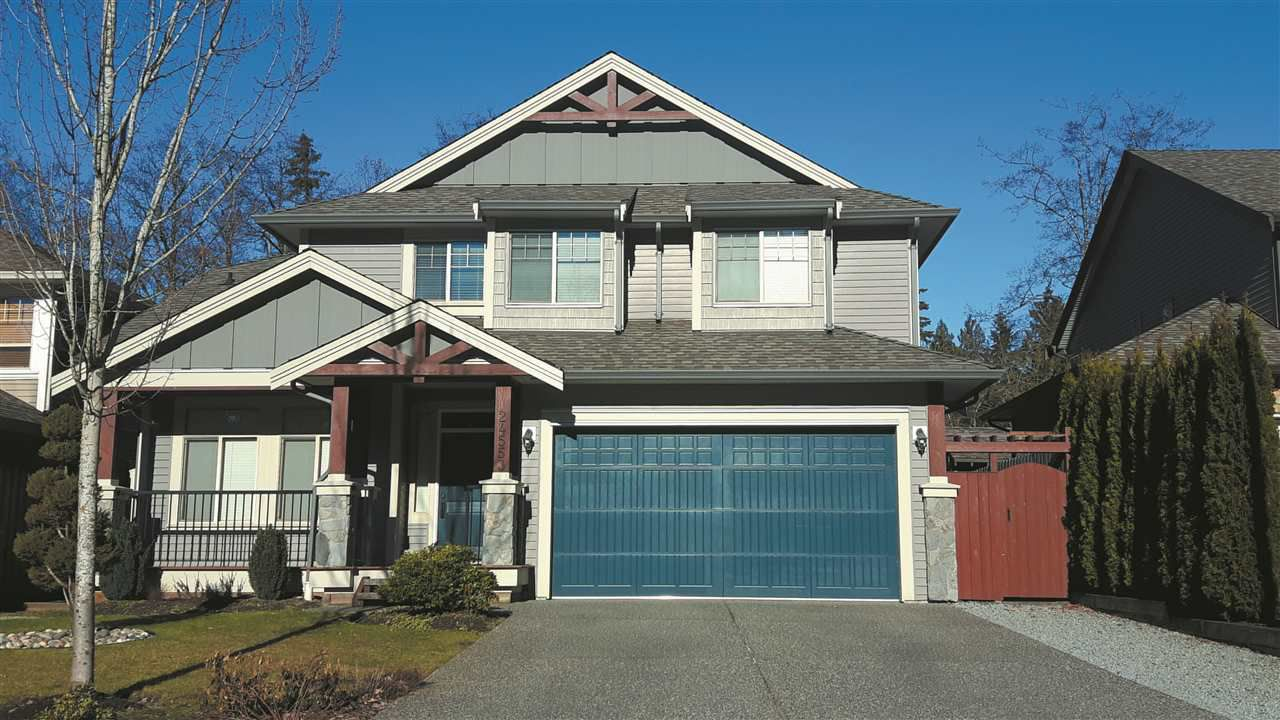 "Main Photo: 24553 KIMOLA Drive in Maple Ridge: Albion House for sale in ""HIGHLAND FOREST"" : MLS®# R2144341"
