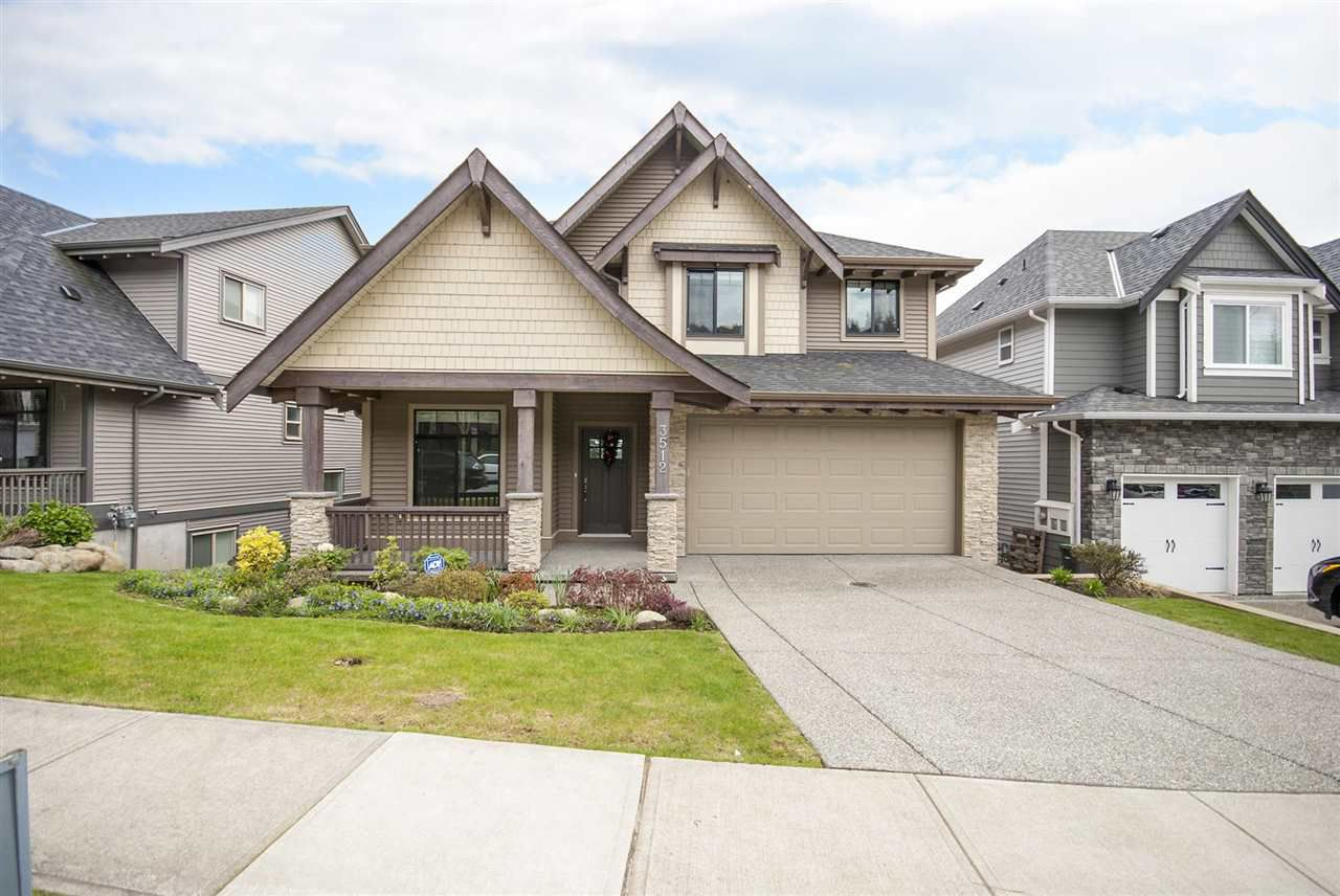 Main Photo: 3512 GALLOWAY Avenue in Coquitlam: Burke Mountain House for sale : MLS®# R2161606