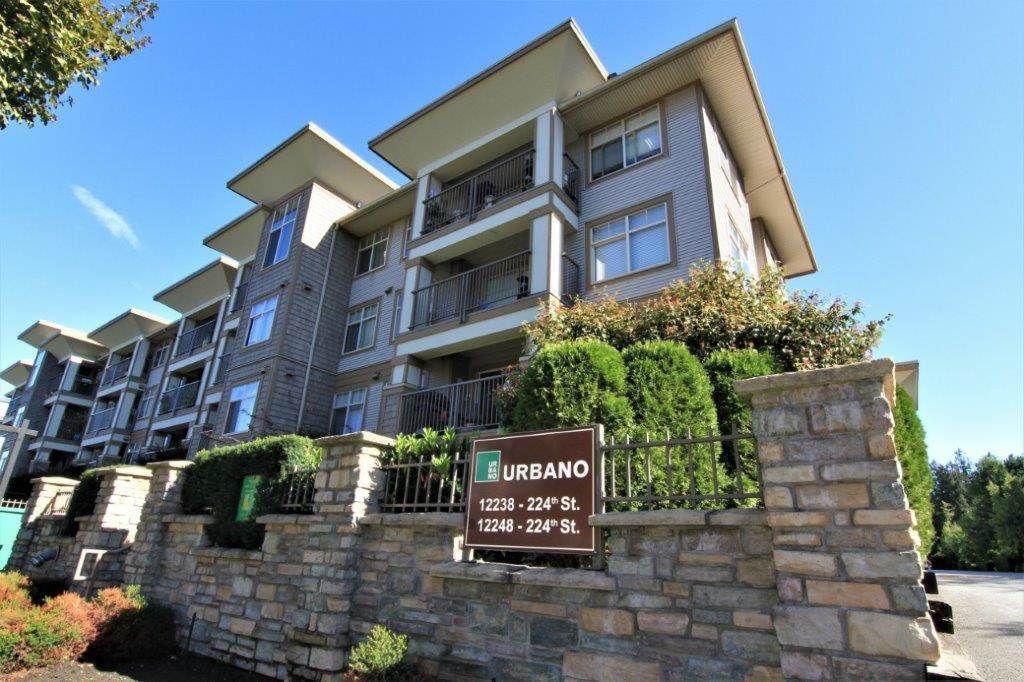 "Main Photo: 316 12248 224 Street in Maple Ridge: East Central Condo for sale in ""URBANO"" : MLS®# R2211064"