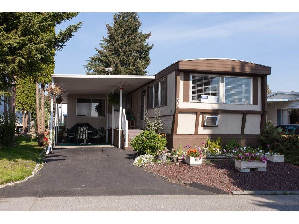 "Main Photo: 59 1840 160 Street in Surrey: King George Corridor Manufactured Home for sale in ""Breakaway Bays"" (South Surrey White Rock)  : MLS®# R2302553"