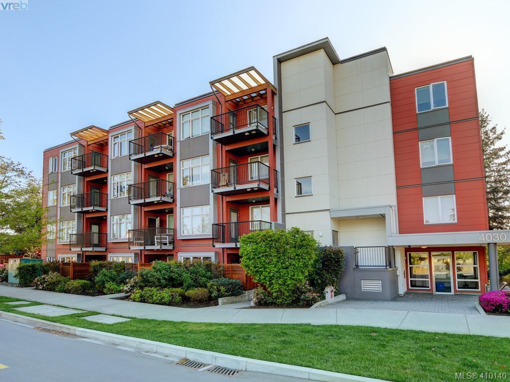 Main Photo: 205 4030 Borden Street in VICTORIA: SE Lake Hill Condo Apartment for sale (Saanich East)  : MLS®# 410140