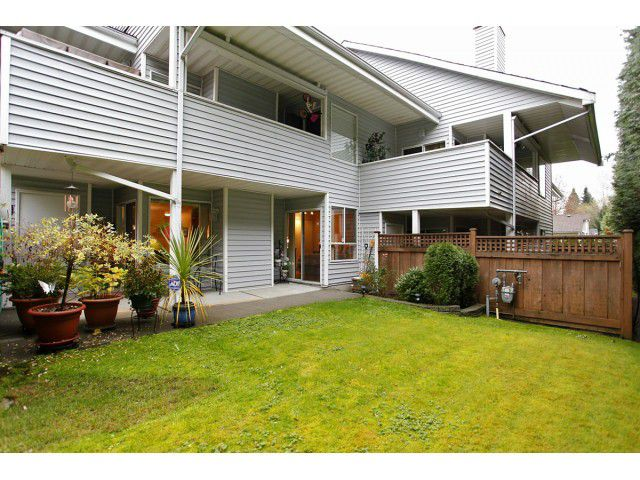 """Main Photo: 25 1235 JOHNSON Street in Coquitlam: Canyon Springs Townhouse for sale in """"CREEKSIDE PLACE"""" : MLS®# V1035997"""